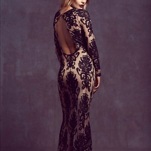 NWOT For Love & Lemons Etheral Maxi Dress Size S